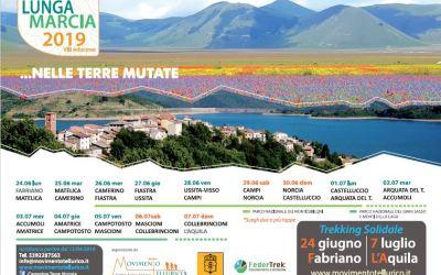 24 giugno – 7 luglio da Fabriano a L'Aquila | VIII edizione | La Lunga Marcia nelle Terre Mutate