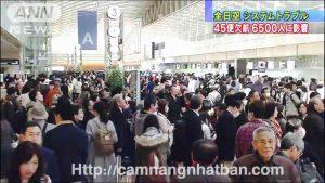 Tình trạng ùn tắc ở sân bay Nhật Bản
