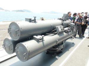 Tầu hải quân Nhật Trang bị vũ khí hiện đại