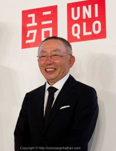 Tadashi Yanai, ông chủ chuỗi cửa hàng thời trang Uniqlo
