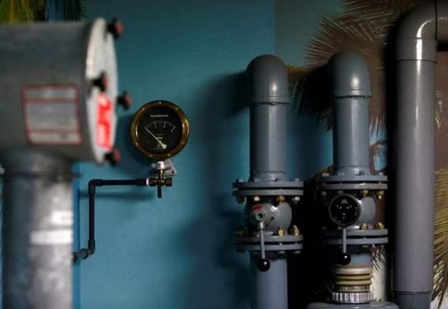Còn đây là thiết bị lọc phóng xạ trong không khí được lắp đặt trong hầm trú ẩn hạt nhân.
