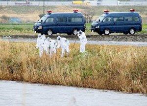 Cảnh sát đang khẩn trương truy tìm hung thủ sát hại Lê Thị Nhật Linh. Ảnh: Kyodo
