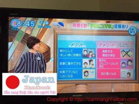 Tivi Nhật nói về lợ hại khi cho trẻ nhỏ dùng Smartphone
