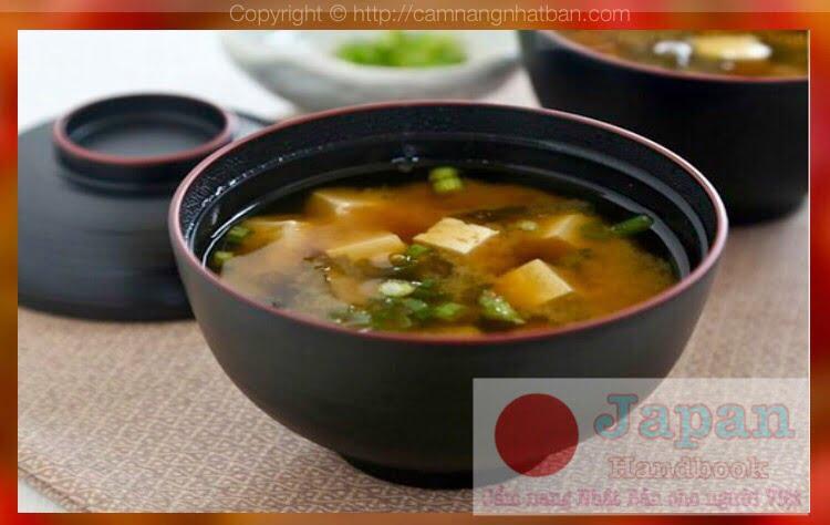 Canh Miso - món canh truyền thống không thể thiếu của người Nhật