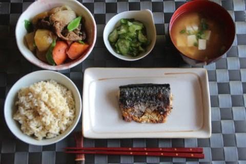 Bữa cơm người Nhật thường có cá. Ảnh minh họa. T.H