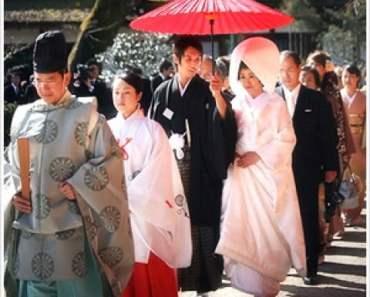 Một đám cưới ở Nhật Bản