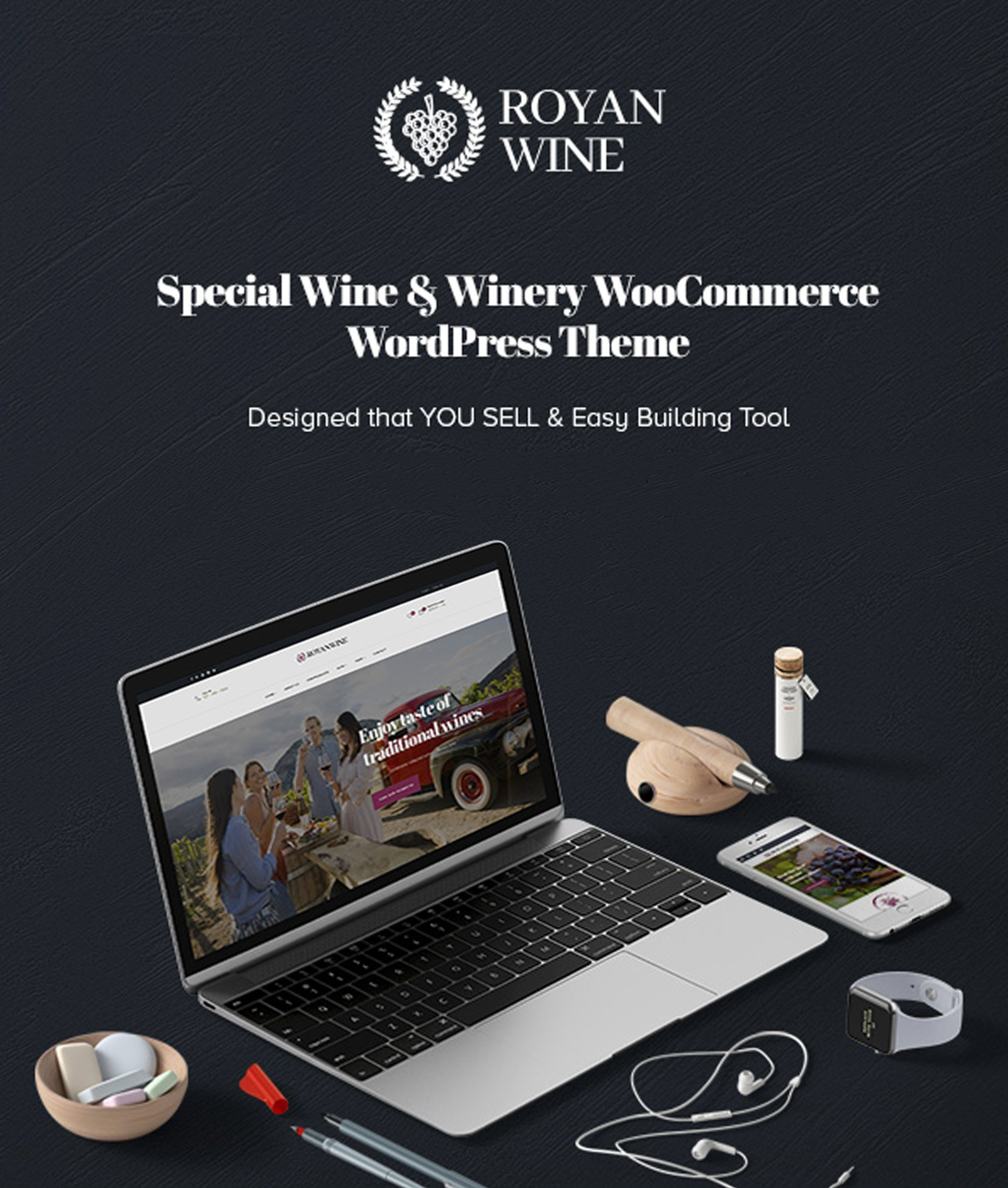 hight resolution of royanwine best vineyard winery wine maker dairy farm wordpress theme wpopal