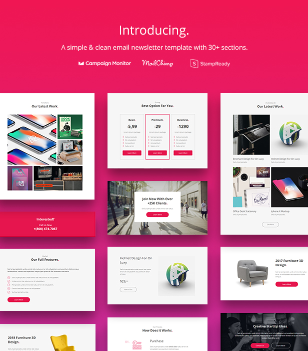 Here are the basic steps you need to take when creating a newsletter. Pro Agency Email Newsletter Template By Yemail Themeforest