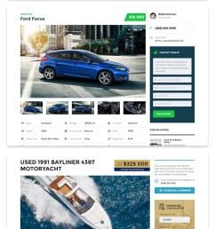 motors automotive car dealership car rental auto classified ads listing wordpress theme [ 615 x 3258 Pixel ]