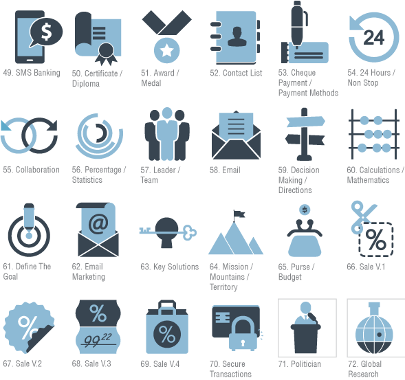 400 animated icons