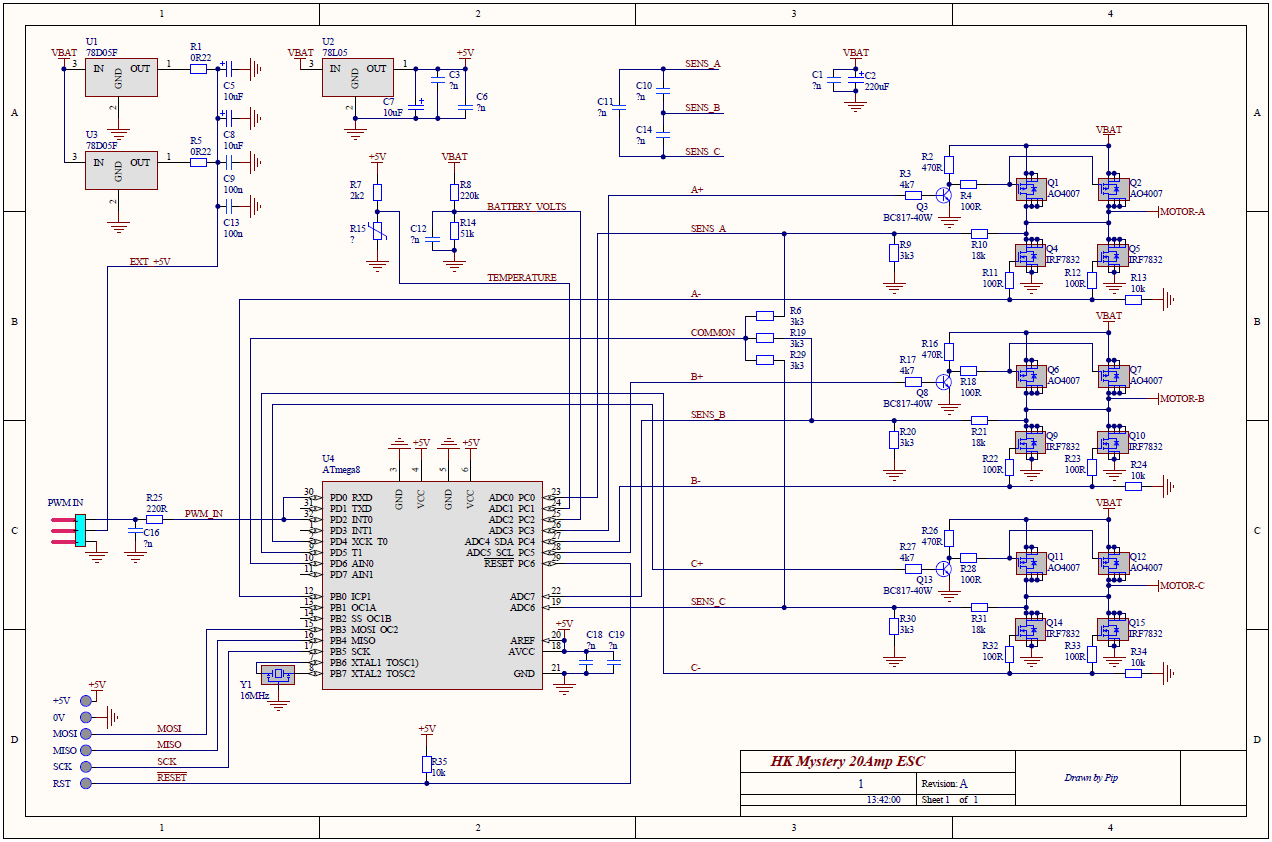hight resolution of 30a esc circuit diagram wiring diagram viewblueseries 30a with mulitstar 690kv fails during operation issue