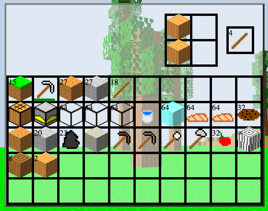 github voxel voxel inventory