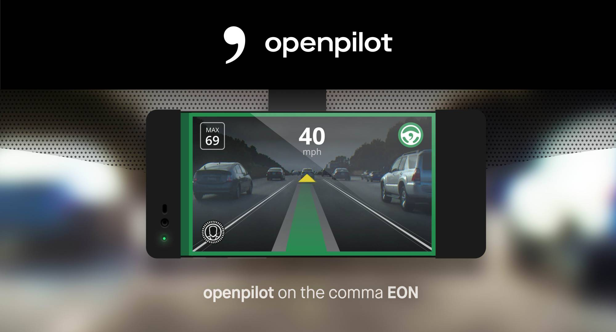 hight resolution of welcome to openpilot