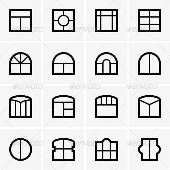 Icon Request: icon-window-open (house window) · Issue