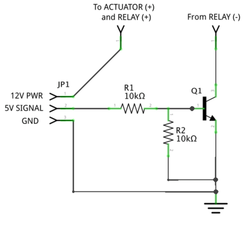 small resolution of 6 circuit diagram for wiring the transistor