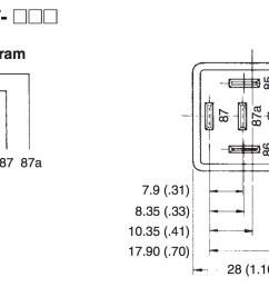 4 12 volt dc relay left and relay circuit diagram right  [ 1268 x 716 Pixel ]