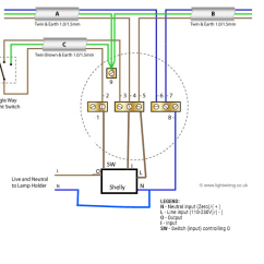 4 Way Wiring Diagram Uk Lollar P90 Light With Shelly 1 Github
