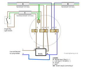 UK Light Wiring with Shelly 1 · GitHub