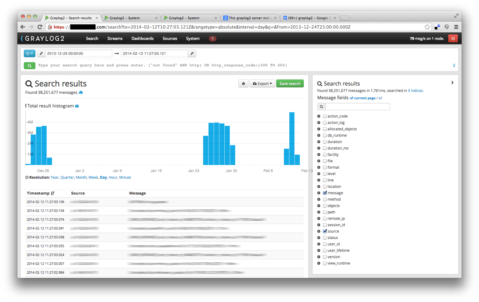 Indices disappear on graylog2-web-interface RC2