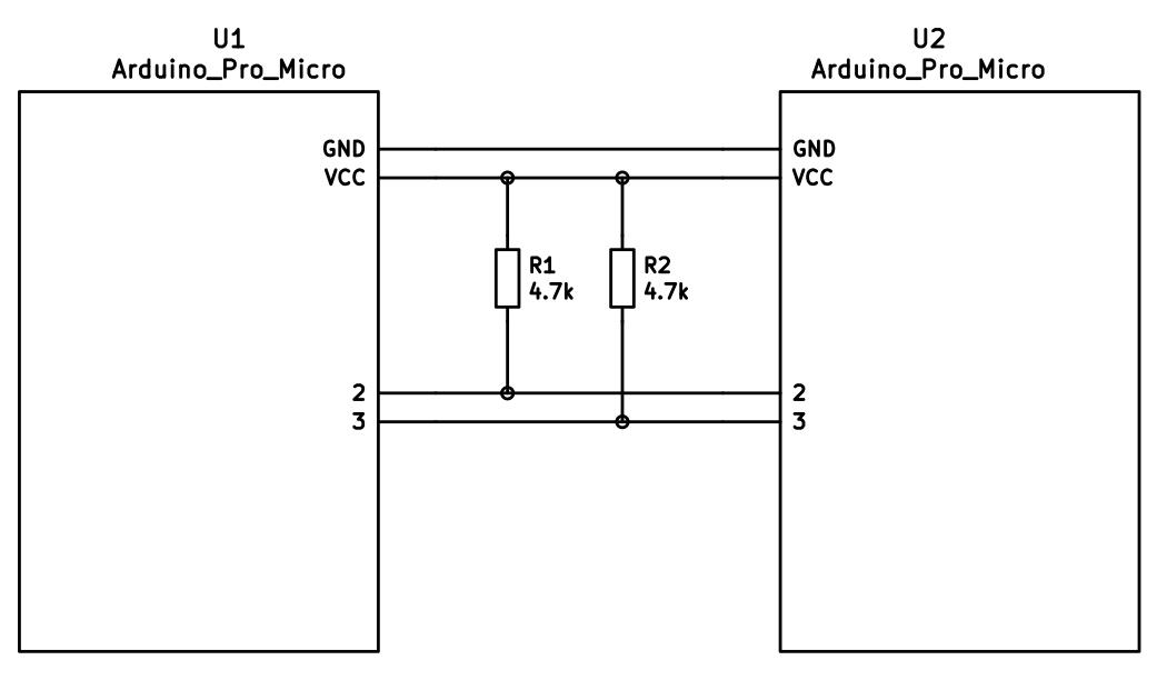 mechanical keyboard wiring diagram animal cell mitosis qmk firmware keyboards lets split at master github i2c