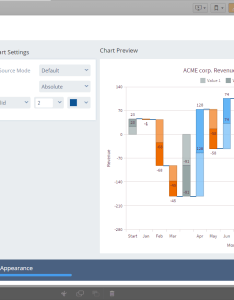 Waterfall chart anychart extension for qlik sense also github javascript visualization rh