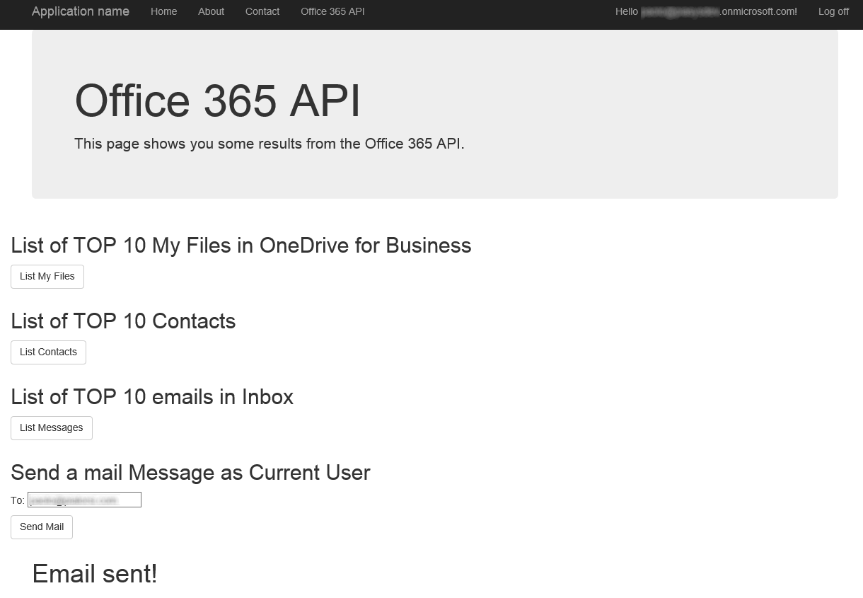 PnP/Samples/Office365Api.Overview at master · SharePoint