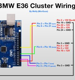 bmw e36 cluster wiring wiring diagram data val bmw e36 instrument cluster wiring bmw e36 cluster [ 1200 x 780 Pixel ]