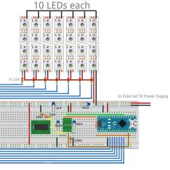 Audio Spectrum Analyzer Circuit Diagram Wiring For Trailer Mounted Brake Controller Github Ninharp Ninspectrumdisplay Arduino Library