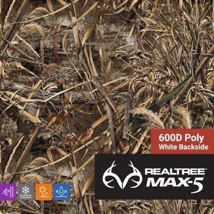 Realtree Max-5 600D Poly