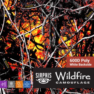 Moon Shine Camo - Wildfire 600D Poly Fabric