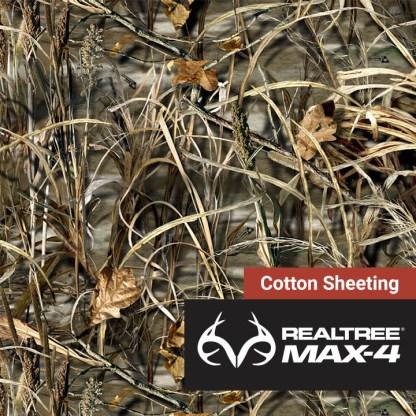 Realtree-Max-4-Cotton-Sheeting