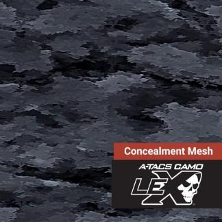 A-TACS LE-X Concealment Mesh Fabric