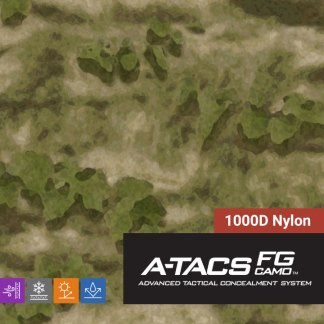 A-TACS-FG 1000D Nylon Camo Fabric