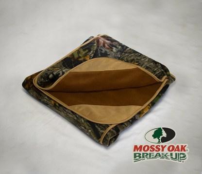 Mossy Oak Break Up Fleece Blanket
