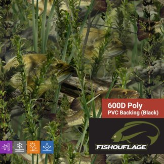 Fishouflage Bass - 600D Poly Fabric