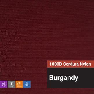 1000D Cordura Nylon - Solid Burgandy