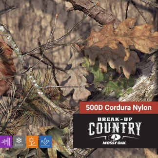 Mossy Oak Break-Up Country 500D Cordura Nylon