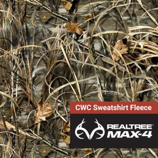 Realtree Max-4 CWC Sweatshirt Fleece