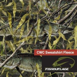 Fishouflage Musky - CWC Sweatshirt Fleece Fabric