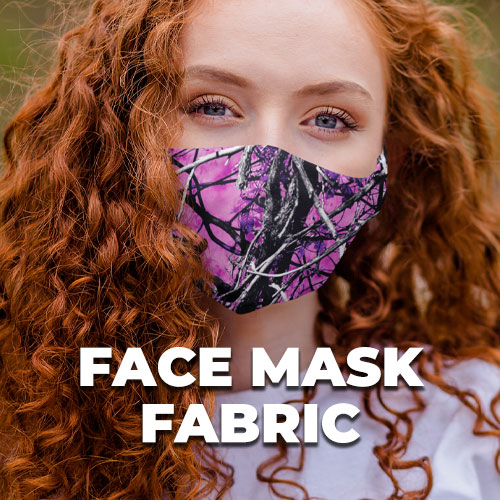 Camouflage Face Mask Fabric