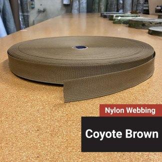 Nylon-Webbing-CoyoteBrown