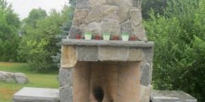 Camosse Masonry Supply, Massachusetts, Outdoor Fireplace