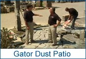 Camosse, Massachusetts, Gator Dust Patio