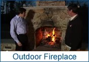 Camosse, Massachusetts, Outdoor Fireplace
