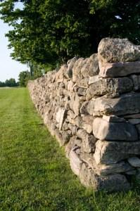 Dry Stone Wall, Camosse Masonry Supply, MA