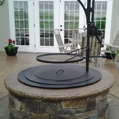 Double Flame Smoke Less Firepit Camosse Masonry Supply