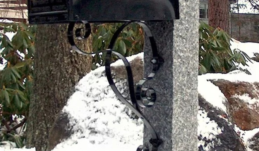 Granite Mailbox Post - Home & Garden Improvement Design