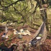 野営スタイルで自然と一体化!ハンモックキャンパー【@so_free7さんをウラ側HACK!】
