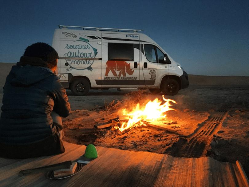 faire un tour du monde avec un van aménagé