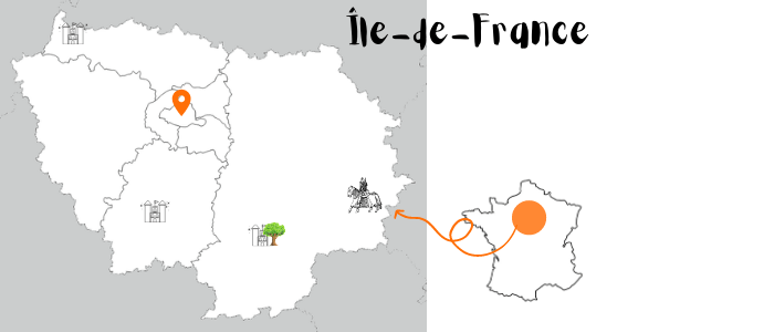 carte culture et nature en Ile de France